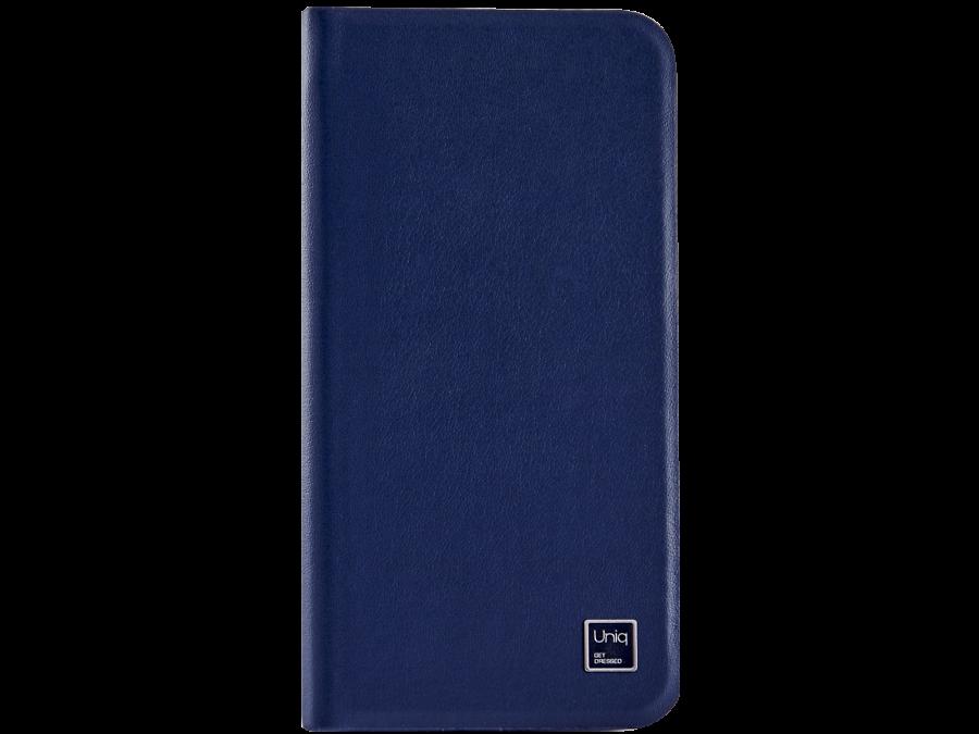 Uniq Чехол-книжка Uniq Wallet Folio для Apple iPhone 6, кожа / пластик, синий