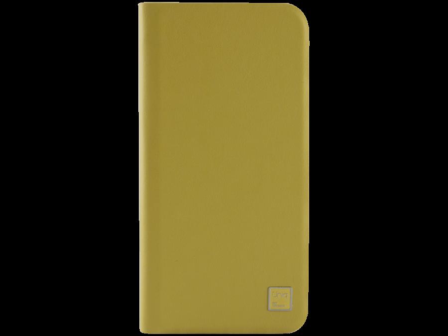 Uniq Чехол-книжка Uniq Wallet Folio для Apple iPhone 6, кожа / пластик, желтый