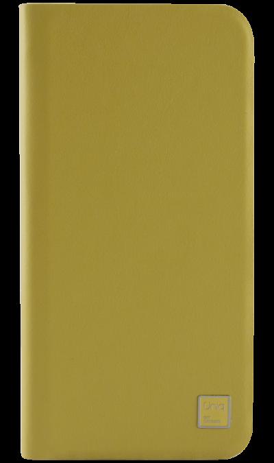 Чехол-книжка Uniq Wallet Folio для Apple iPhone 6, кожа / пластик, желтыйЧехлы и сумочки<br>Чехол поможет не только защитить ваш iPhone 6 от повреждений, но и сделает обращение с ним более удобным, а сам аппарат будет выглядеть еще более элегантным. В чехле также предусмотрены отделения для кредитных карт.<br><br>Colour: Желтый