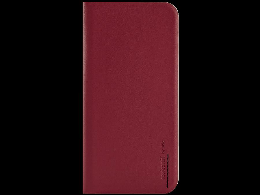 Uniq Чехол-книжка Uniq Wallet Folio для Apple iPhone 6, кожа / пластик, красный