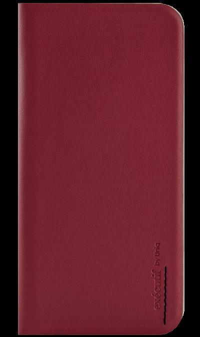 Чехол-книжка Uniq Wallet Folio для Apple iPhone 6, кожа / пластик, красныйЧехлы и сумочки<br>Чехол поможет не только защитить ваш iPhone 6 от повреждений, но и сделает обращение с ним более удобным, а сам аппарат будет выглядеть еще более элегантным. В чехле также предусмотрены отделения для кредитных карт.<br><br>Colour: Красный