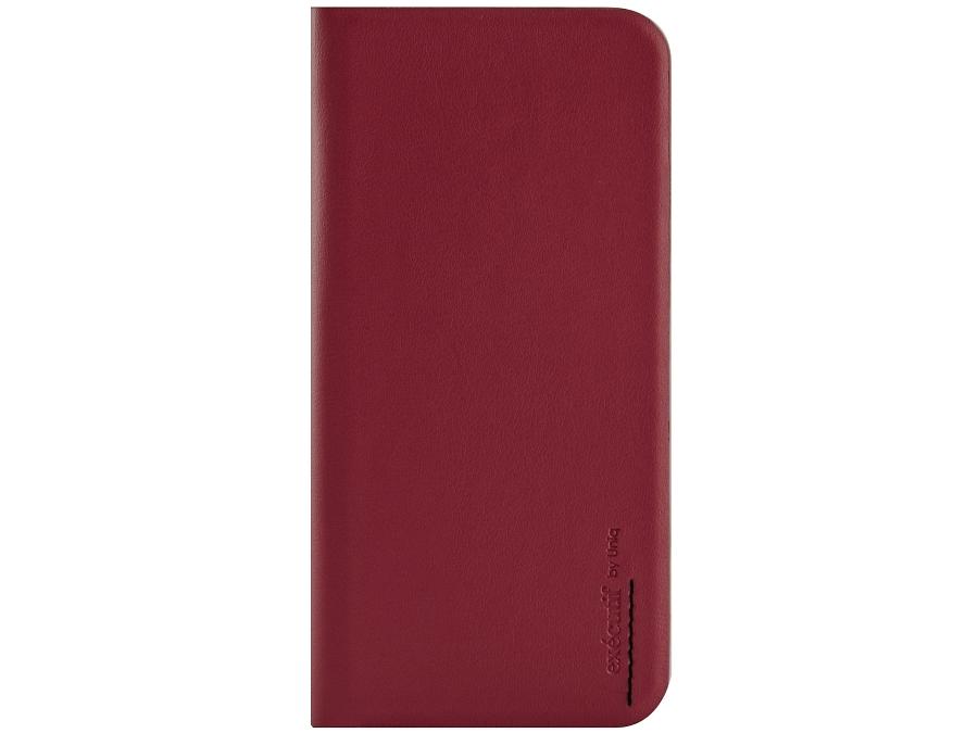 Чехол-книжка Uniq Wallet Folio для Apple iPhone 6, кожа / пластик, красный