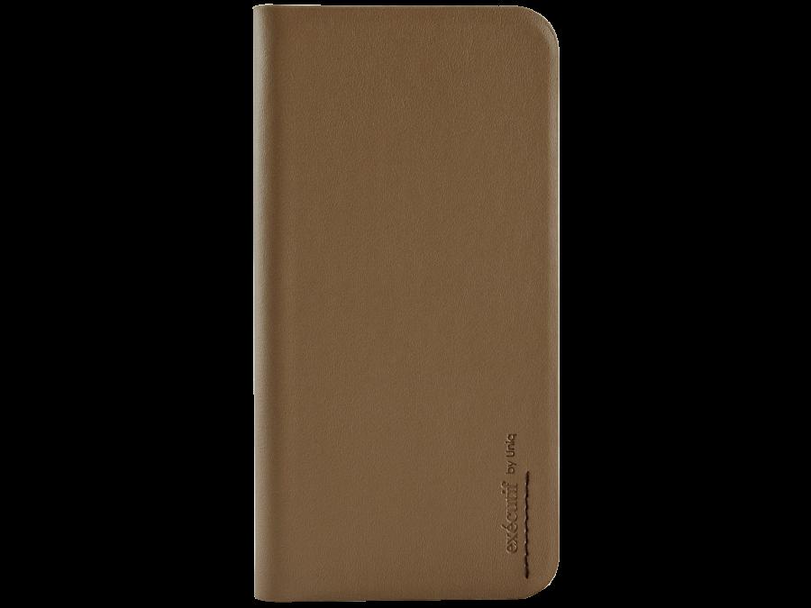 Uniq Чехол-книжка Uniq Wallet Folio для Apple iPhone 6, кожа / пластик, коричневый
