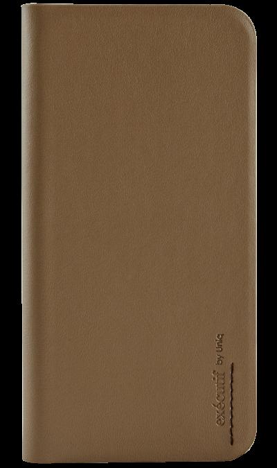 Чехол-книжка Uniq Wallet Folio для Apple iPhone 6, кожа / пластик, коричневыйЧехлы и сумочки<br>Чехол поможет не только защитить ваш iPhone 6 от повреждений, но и сделает обращение с ним более удобным, а сам аппарат будет выглядеть еще более элегантным. В чехле также предусмотрены отделения для кредитных карт.<br><br>Colour: Коричневый