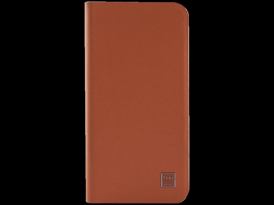Uniq Чехол-книжка Uniq Wallet Folio для Apple iPhone 6, кожа / пластик, оранжевый