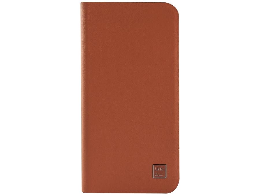 Чехол-книжка Uniq Wallet Folio для Apple iPhone 6, кожа / пластик, оранжевый