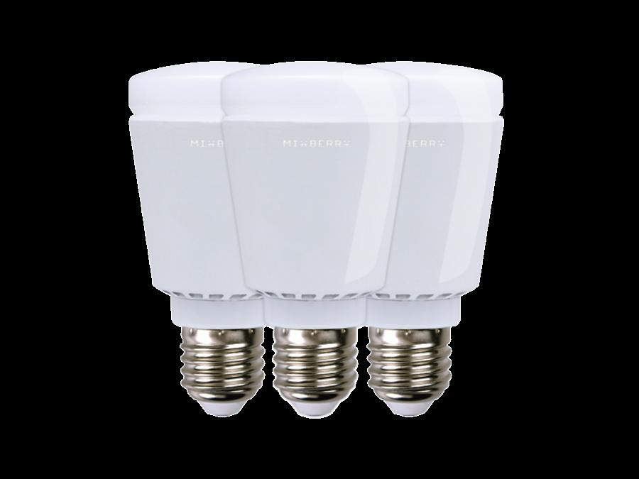 Умная лампа Mixberry LED Bluetooth MSL7RGB127 3шт