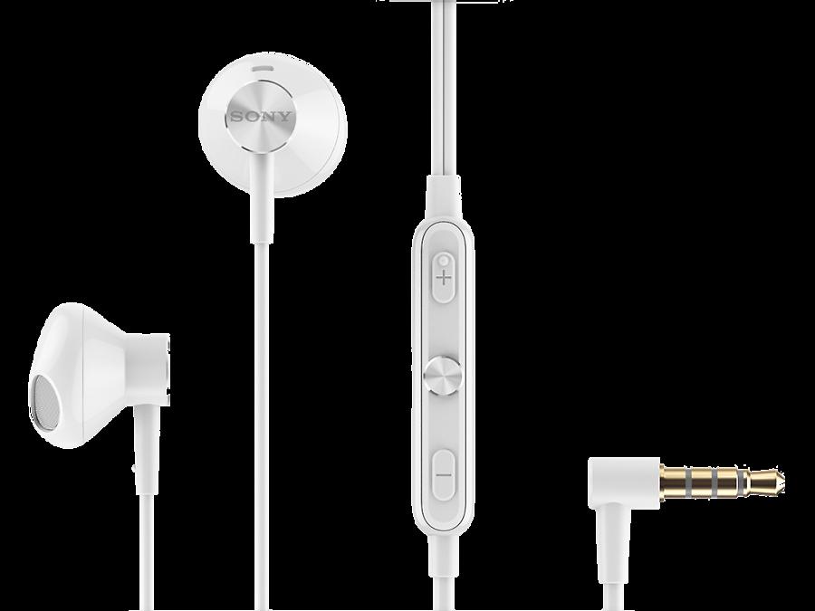 Проводная гарнитура Sony STH30, стерео (белый)