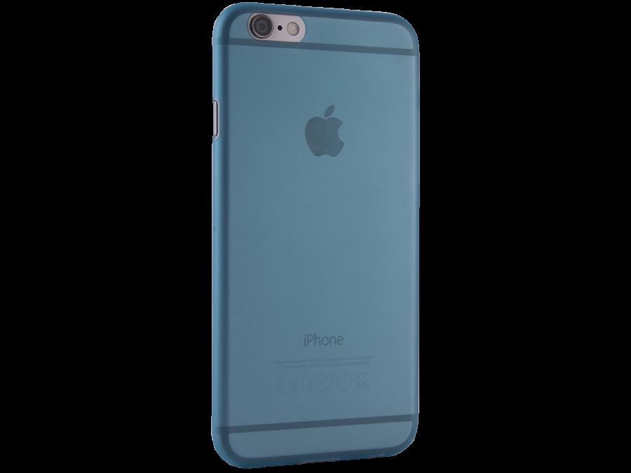 Чехол-крышка ZAKKA для Apple iPhone 6, поликарбонат, голубой