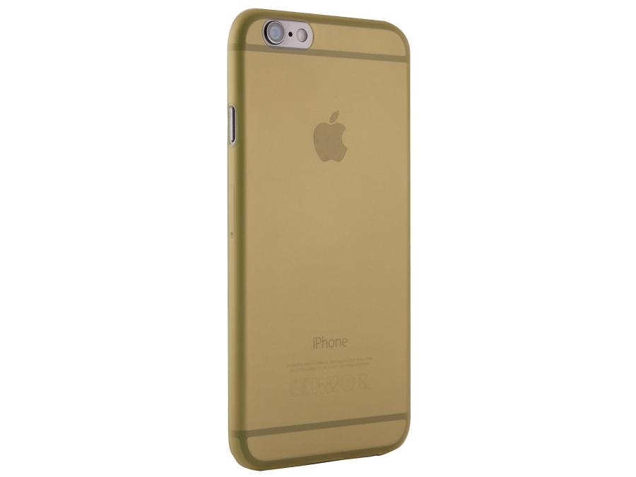 Чехол-крышка ZAKKA для Apple iPhone 6, поликарбонат, желтый