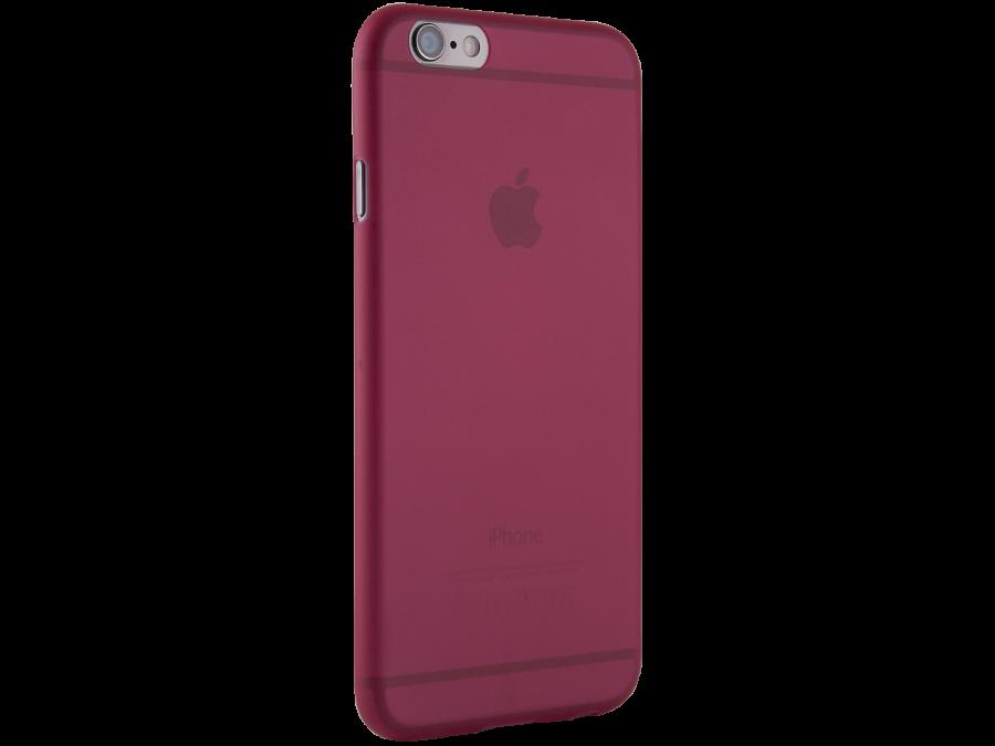 Чехол-крышка ZAKKA для Apple iPhone 6, поликарбонат, красный