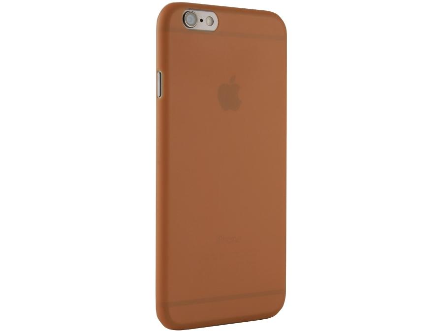 Чехол-крышка ZAKKA для Apple iPhone 6, поликарбонат, оранжевый