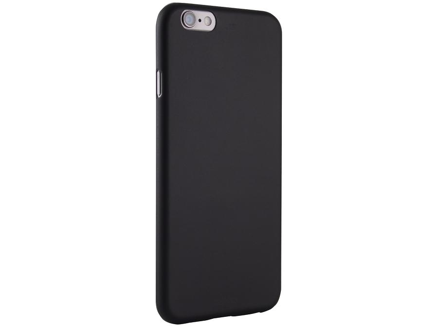 Чехол-крышка ZAKKA для Apple iPhone 6, поликарбонат, черный