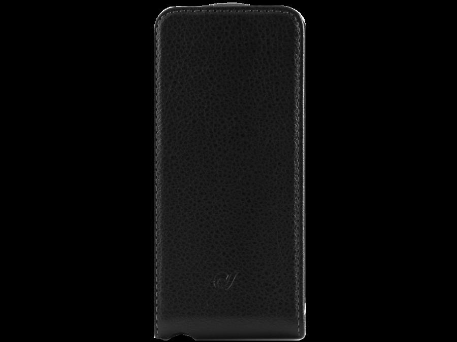 Cellular Line Чехол-книжка Cellular Line 17100 для Apple iPhone 5/5s, кожзам, черный cellular line spvanityiphone5