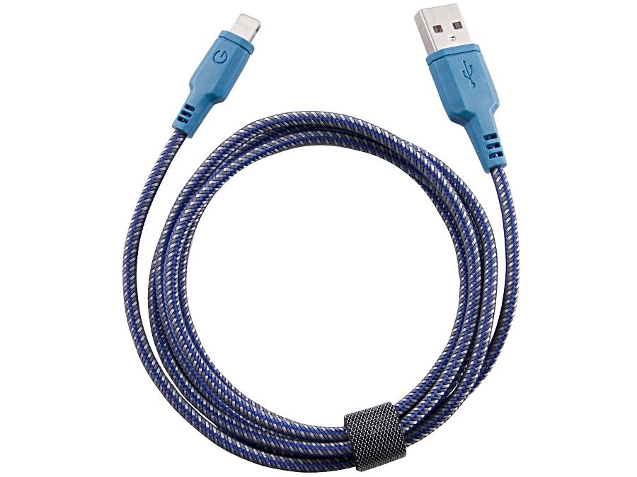 Кабель Energea Lightning NyloTough (синий)