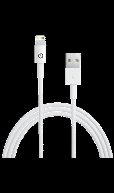 Кабель Energea Lightning Sync Max (белый)Кабели и адаптеры<br>Кабель зарядки и передачи данных для мобильных устройств<br><br>Colour: Белый
