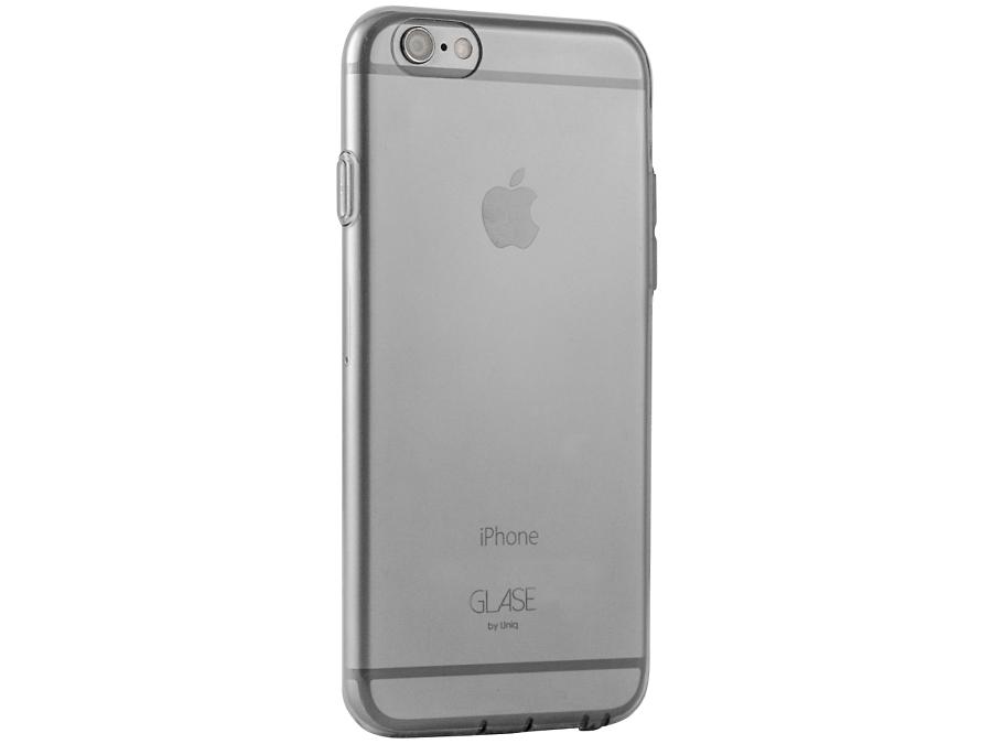 Чехол-крышка Uniq Glase для Apple iPhone 6 Plus, 6S Plus, силикон, прозрачный