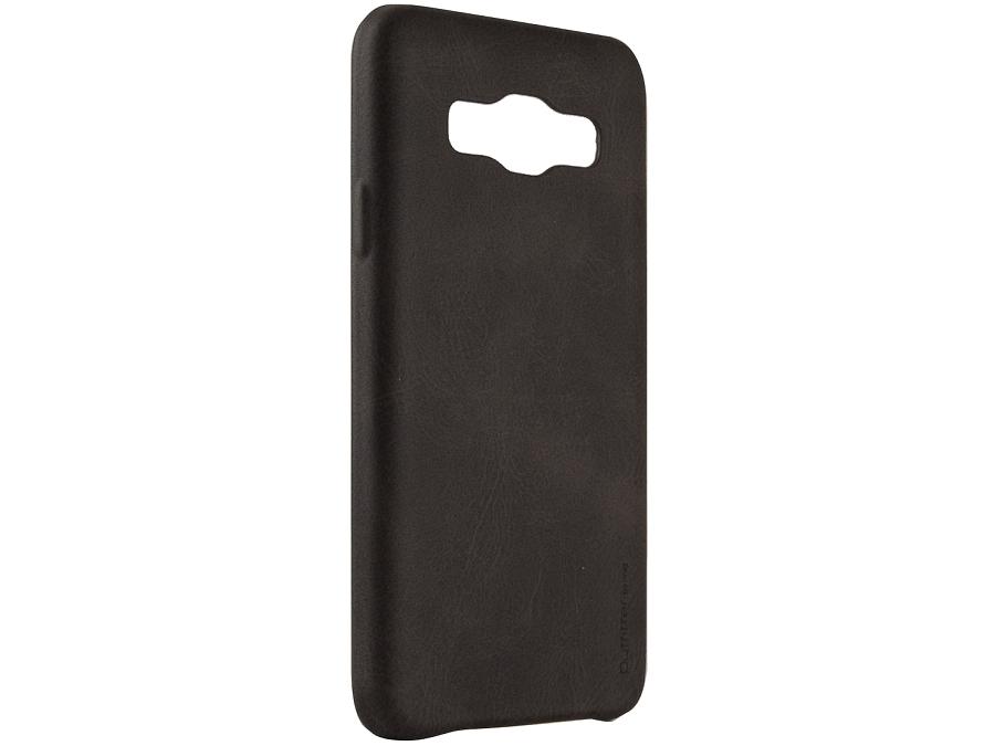Чехол-крышка Uniq Outfitter Samsung Galaxy A3, кожзам, коричневый