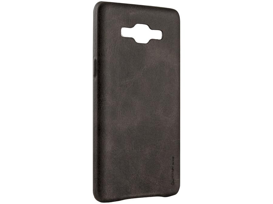 Чехол-крышка Uniq Outfitter Samsung Galaxy A5, кожзам, коричневый