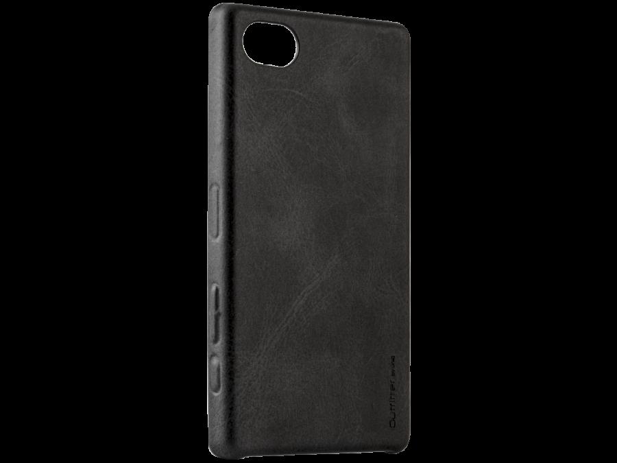 Uniq Чехол-крышка Uniq Outfitter Sony Xperia Z5 Compact, кожзам, черный