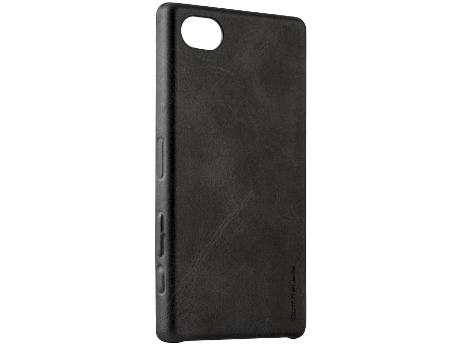 Чехол-крышка Uniq Outfitter Sony Xperia Z5 Compact, кожзам, черный