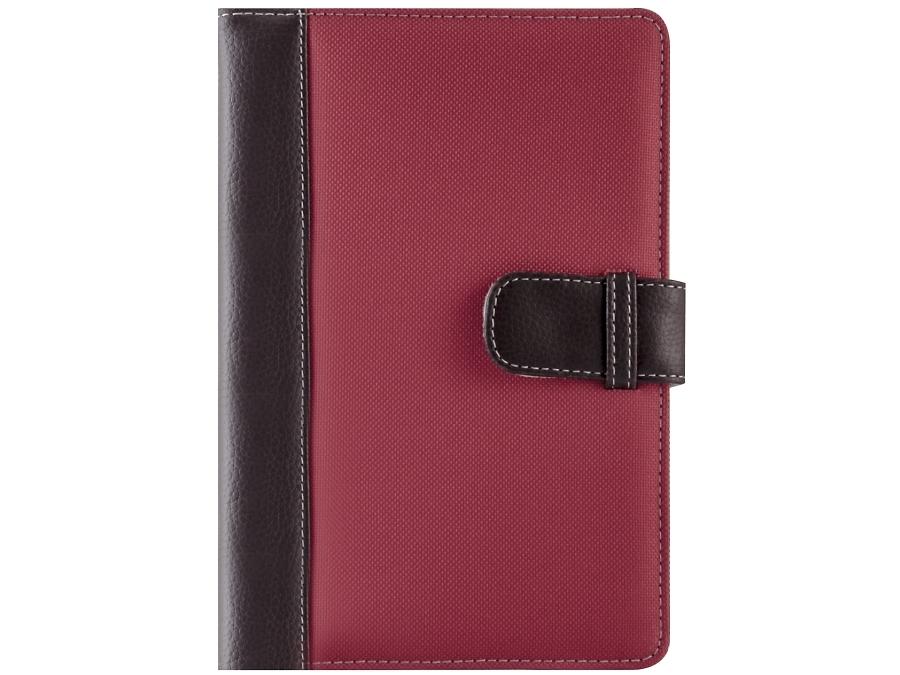 """Чехол-книжка Griffin универсальный 2TYPE 7"""", кожзам / ткань, красно-коричневый"""