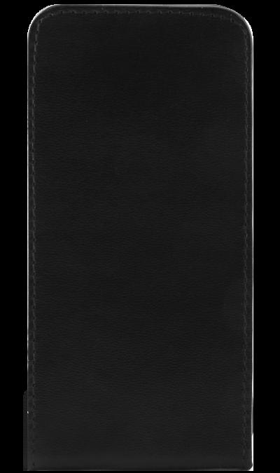 Чехол-книжка OxyFashion вертикальный для Apple iPhone 5, кожзам, черный (на присоске)Чехлы и сумочки<br>Чехол поможет не только защитить ваш iPhone 5/5S от повреждений, но и сделает обращение с ним более удобным, а сам аппарат будет выглядеть еще более элегантным.<br><br>Colour: Черный