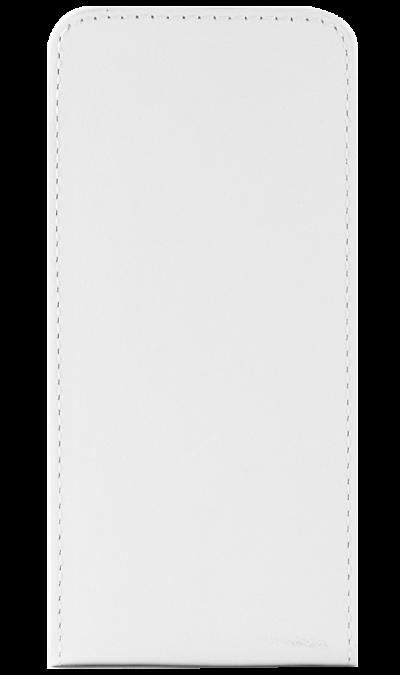 Чехол-книжка OxyFashion вертикальный для Apple iPhone 5, кожзам, белый (на присоске)Чехлы и сумочки<br>Чехол поможет не только защитить ваш iPhone 5/5S от повреждений, но и сделает обращение с ним более удобным, а сам аппарат будет выглядеть еще более элегантным.<br><br>Colour: Белый