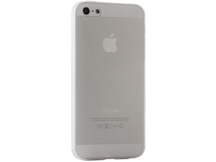 Чехол-крышка Gresso для iPhone 5S, силикон, белый