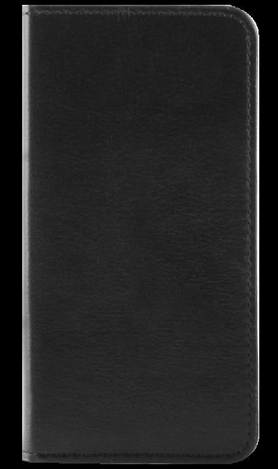 Чехол-книжка OxyFashion горизонтальный для Apple iPhone 5, кожа, черный (с отделением для кредиток)Чехлы и сумочки<br>Чехол поможет не только защитить ваш iPhone 5/5S от повреждений, но и сделает обращение с ним более удобным, а сам аппарат будет выглядеть еще более элегантным.<br><br>Colour: Черный