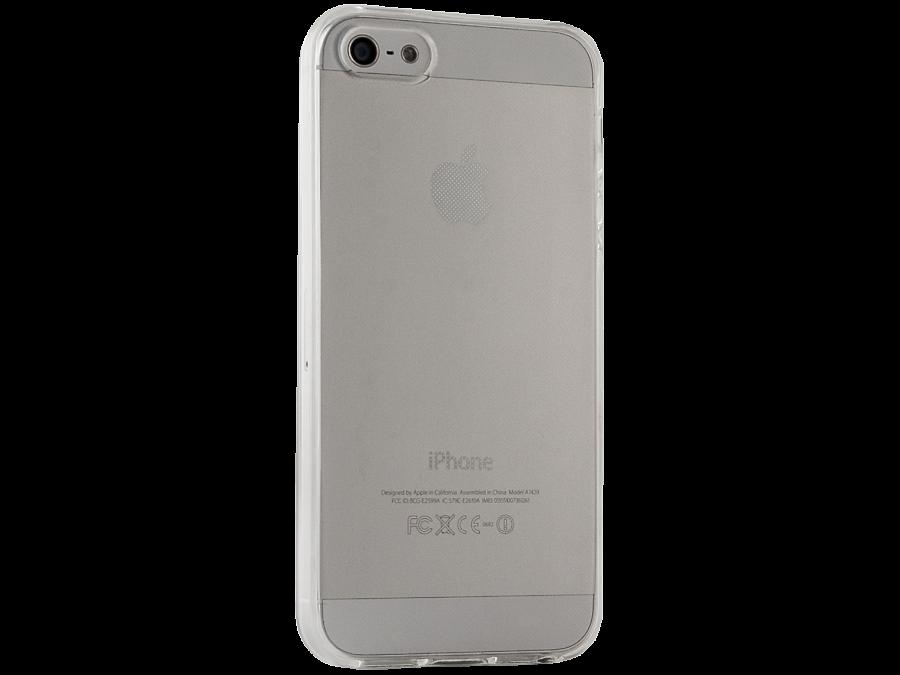 Чехол-крышка Gresso для Apple iPhone 5S, силикон, прозрачный