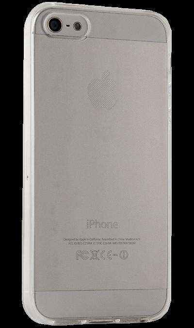 цена на Gresso Чехол-крышка Gresso для Apple iPhone 5S, силикон, прозрачный