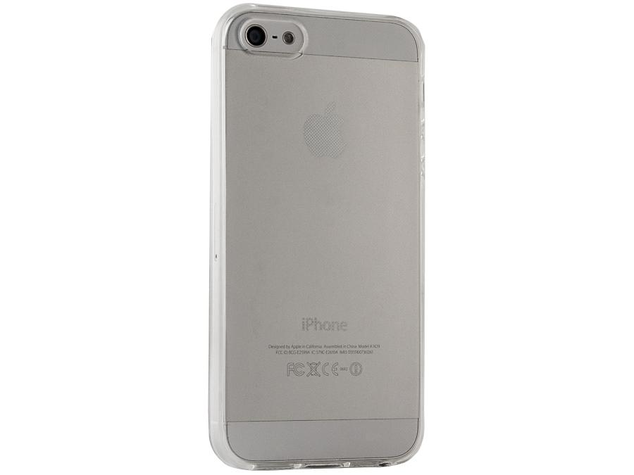 Чехол-крышка Gresso для iPhone 5S, силикон, прозрачный