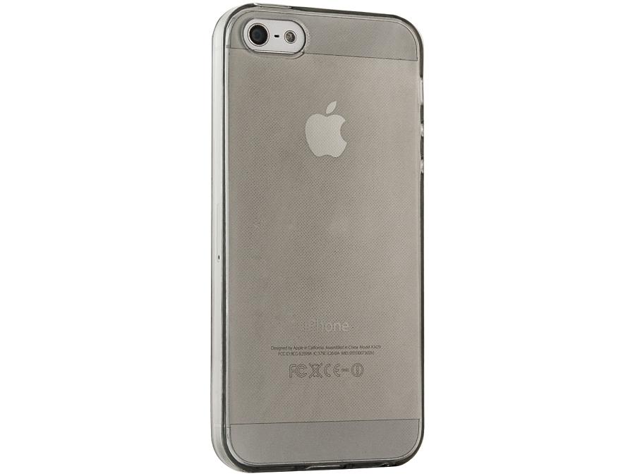Чехол-крышка Gresso для iPhone 5/5S, силикон, черный