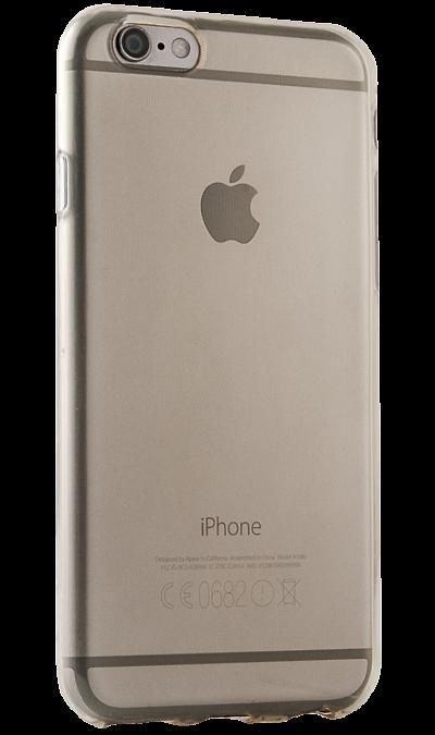 где купить Gresso Чехол-крышка Gresso для Apple iPhone 6/6S, силикон, золотистый (прозрачный) по лучшей цене