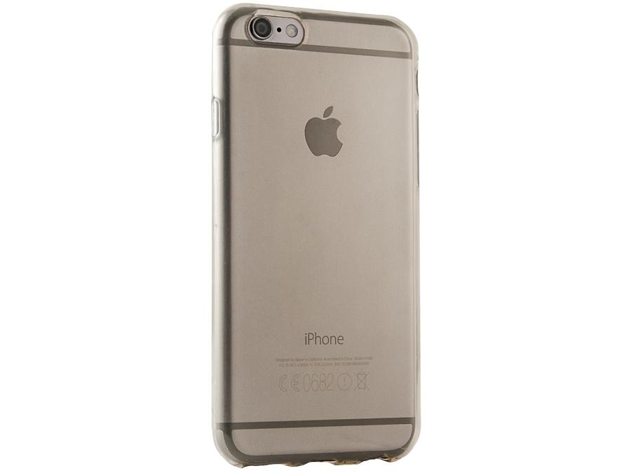 Чехол-крышка Gresso для iPhone 6/6S, силикон, золотистый (прозрачный)