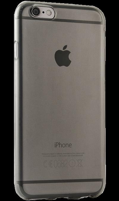 Чехол-крышка Gresso для Apple iPhone 6/6S, силикон, черный (прозрачный)Чехлы и сумочки<br>Чехол поможет не только защитить ваш iPhone 6 от повреждений, но и сделает обращение с ним более удобным, а сам аппарат будет выглядеть еще более оригинальным.<br><br>Colour: Черный