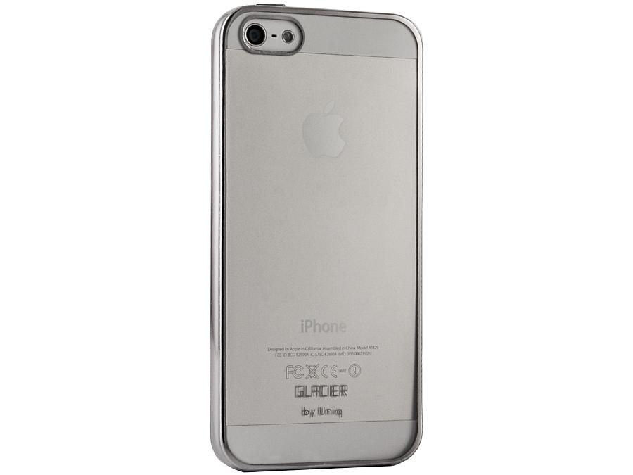 �����-������ Uniq Glacier Glitz ��� iPhone 5/5S, �������