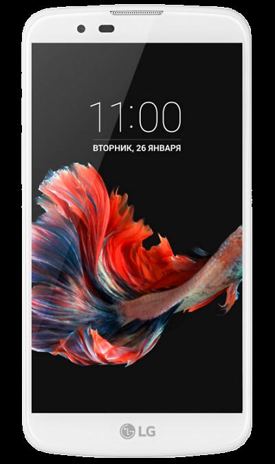 LG K10 K410Смартфоны<br>2G, 3G, Wi-Fi; ОС Android; Камера 8 Mpix, AF; Разъем для карт памяти; MP3,  GPS; Вес 143 г.<br><br>Colour: Белый