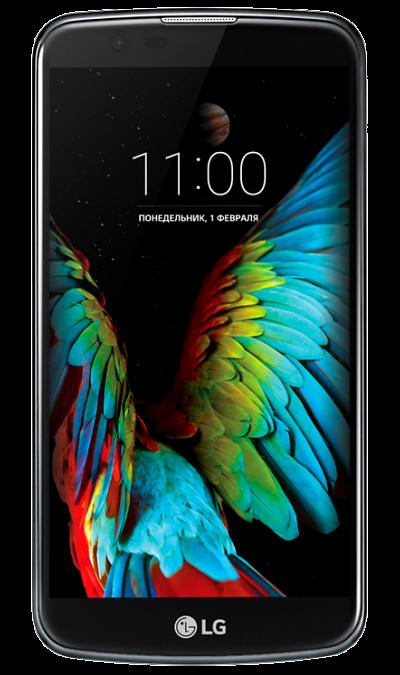 LG K10 LTE K430DSСмартфоны<br>2G, 3G, 4G, Wi-Fi; ОС Android; Камера 13 Mpix, AF; Разъем для карт памяти; MP3,  GPS; Вес 141 г.<br><br>Colour: Черный