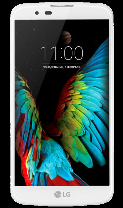 LG K10 LTE K430DSСмартфоны<br>2G, 3G, 4G, Wi-Fi; ОС Android; Камера 13 Mpix, AF; Разъем для карт памяти; MP3,  GPS; Вес 141 г.<br><br>Colour: Белый