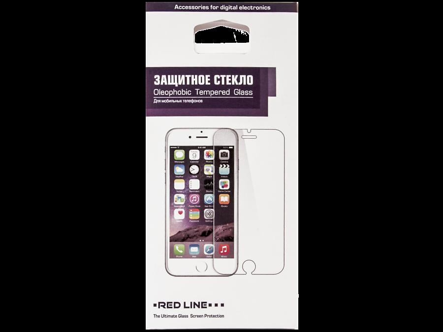 Защитное стекло RedLine Full screen для Apple iPhone 6 Plus (черное)