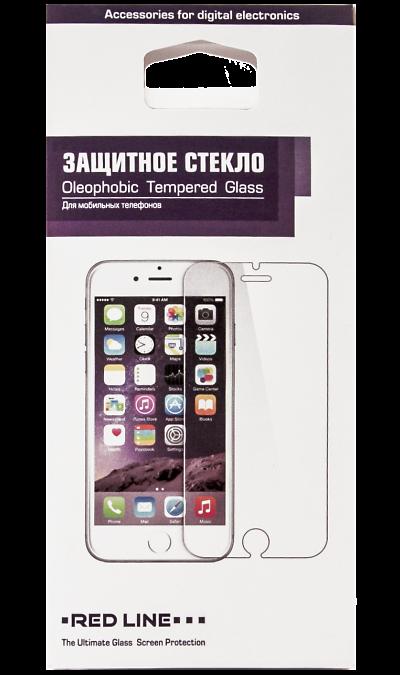 RedLine Защитное стекло RedLine Full screen для Apple iPhone 6 Plus (черное) аксессуар защитное стекло monsterskin 3d pc glass для apple iphone 6 plus black