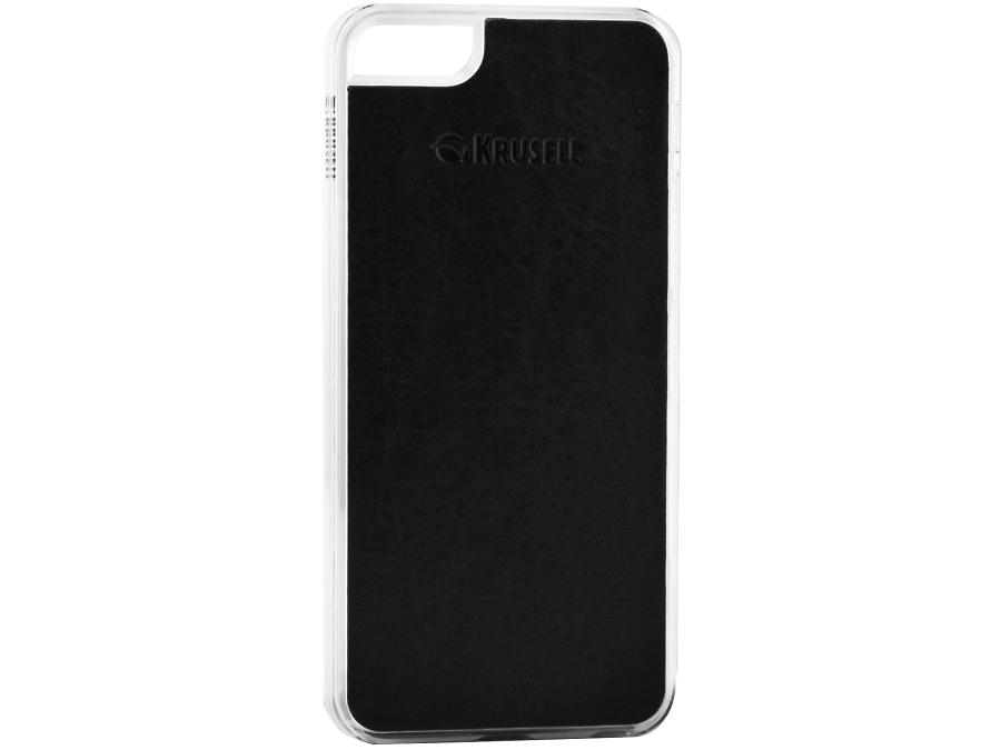 Чехол-крышка Krusell для Apple iPhone 5, 5S, кожзам, черный