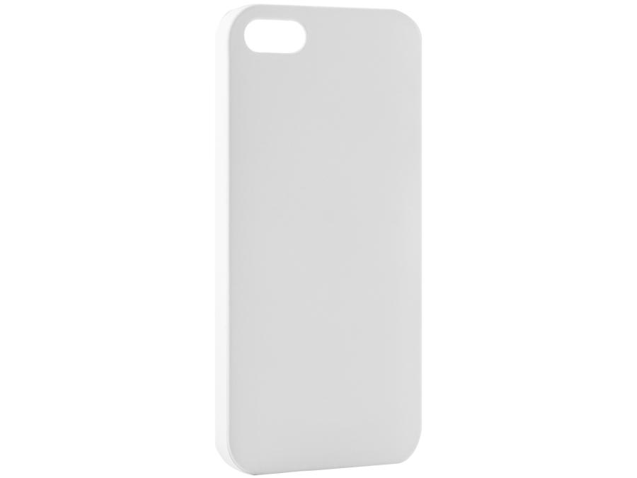 Чехол-крышка FashionTouch для iPhone 5/5S, пластик, белый