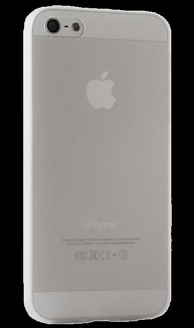 Чехол-крышка BRAUFFEN для Apple iPhone 5/5S, пластик, прозрачныйЧехлы и сумочки<br>Чехол поможет не только защитить ваш iPhone 5 от повреждений, но и сделает обращение с ним более удобным, а сам аппарат будет выглядеть еще более оригинальным.<br>