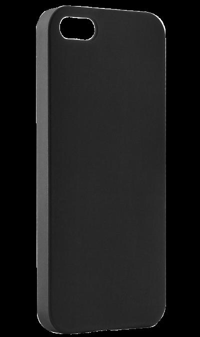 Чехол-крышка BRAUFFEN для Apple iPhone 5/5S, пластик, черныйЧехлы и сумочки<br>Чехол поможет не только защитить ваш iPhone 5 от повреждений, но и сделает обращение с ним более удобным, а сам аппарат будет выглядеть еще более оригинальным.<br><br>Colour: Черный