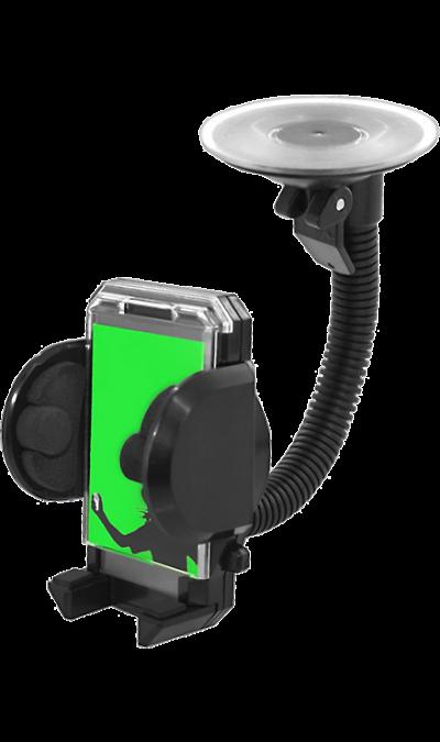 Держатель в автомобиль Fly универсальный (со штангой)Держатели<br>Автомобильный держатель для портативных устройств. Наилучшим образом подходит для мобильных телефонов, смартфонов, коммуникаторов, КПК, GPS приемников и мультимедиа проигрывателей. Держатель крепится на приборную панель или вентиляционную решетку.<br>