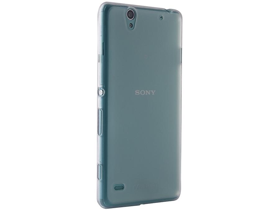 Чехол-крышка Cellular Line для Sony Xperia C4, силикон, матовый