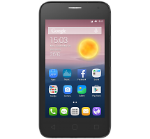 Смартфон Alcatel One Touch PIXI First 4024D Metal Silver